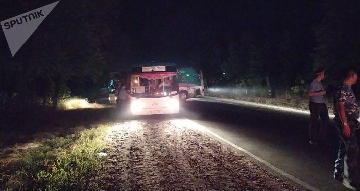 Сотни милиционеров, находившихся в Кой-Таше, уехали из села