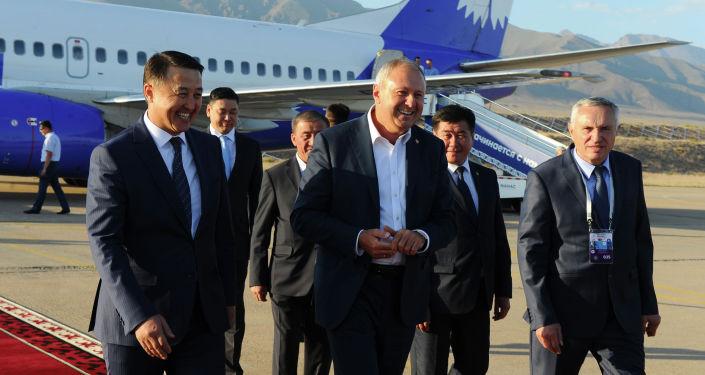 Премьер-министр Беларуси Сергей Румас с рабочим визитом прибыл в Кыргызстан