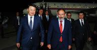 Премьер-министр Республики Армения Никол Пашинян с рабочим визитом прибыл в Кыргызскую Республику в рамках участия в юбилейном заседании Евразийского межправительственного совета.