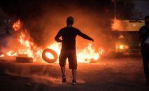 Беспорядки в селе Кой-Таш. Архивное фото