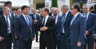 Премьер-министры стран участников ЕАЭС. Архивное фото