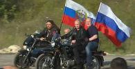 Путин на Урале приехал на байк-шоу
