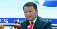 Кыргызстандын башкы прокурору Өткүрбек Жамшитов. Архив
