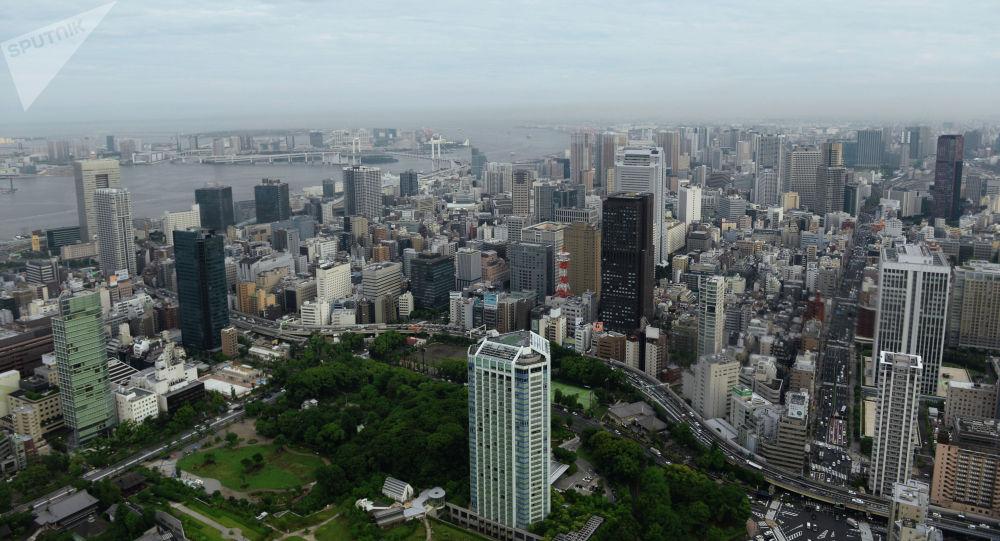 Токио шаары. Архивдик сүрөт