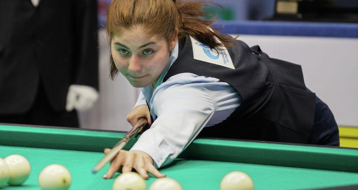 Чемпионат мира по бильярдному спорту среди женщин Свободная пирамида выиграла россиянка Элина Нагула