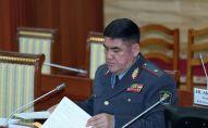 Бывший заместитель министра внутренних дел Курсан Асанов. Архивное фото