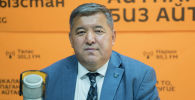 Айыл чарба, тамак-аш өнөр жайы жана мелиорация министринин орун басары Жаныбек Керималиев. Архивдик сүрөт
