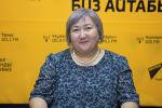 Председатель кыргызской диаспоры Биримдик в Тюмени Канзада Сманова