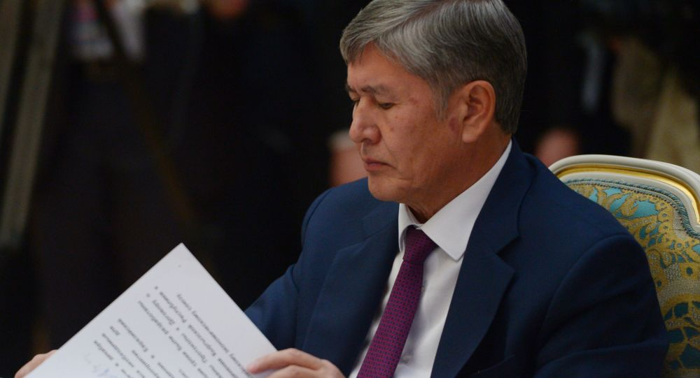 Мурдагы президент Алмазбек Атамбаев
