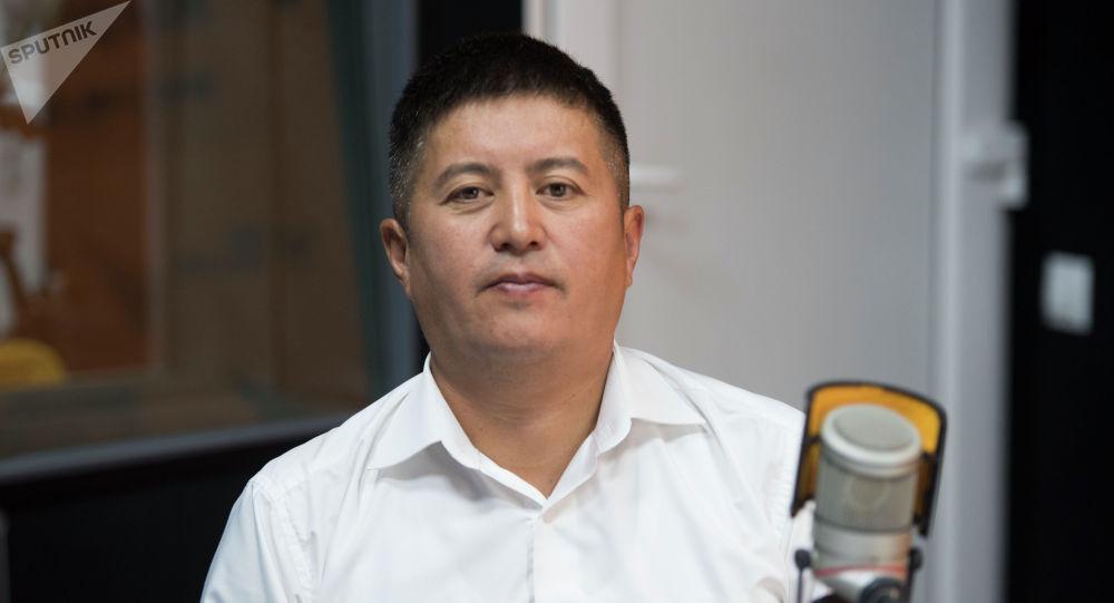 Интеллектуалдык менчик мамлекеттик фондусунун аткаруучу директору Улан Сыдыков