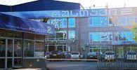 Здание телекомпании Рустави 2 в Тбилиси.