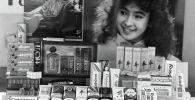 Косметика на прилавке магазина. Архивное фото