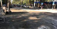 Бишкектеги Токтогул көчөсүнүн бир бөлүгү оңдоо иштеринен кийин колдонууга берилди.