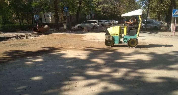 В Бишкеке открыли участок улицы Токтогула после ремонта.