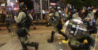 Гонконгдо өкмөткө каршы акциялар. Архивдик сүрөт