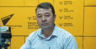 Электр станциялары ААКнын гидротехникалык кызматынын жетекчисинин орун басары Жолдошбек Байызбеков