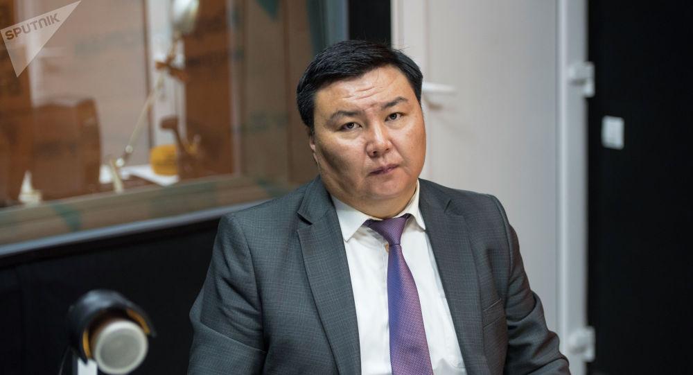 Бишкек мэриясынын Жер пайдалануу жана курулуш башкармалыгынын башчысы Талантбек Иманакун уулу
