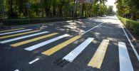 Ремонт части улицы Московской в Бишкеке