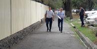 Экс-премьер-министр Өмүрбек Бабанов бүгүн, 30-августта, үчүнчү ирет УКМКга сурак бергени кирип кетти
