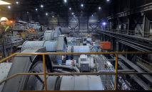 Деятельность горнодобывающей компании Kumtor Gold Company, осуществляющей добычу золота на месторождении Кумтор. Архивное фото