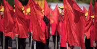 Празднование Дня независимости КР в Бишкеке