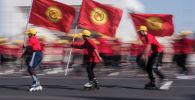 Празднование Дня независимости КР в Бишкеке. Архивное фото