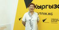 Кыргызстандагы биринчи проктолог айым Гүлмира Сарман