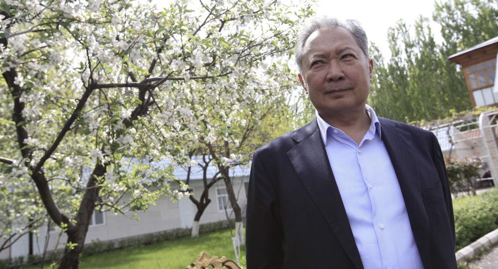 Заочно осужденный бывший президент Курманбек Бакиев. Архивдик сүрөт