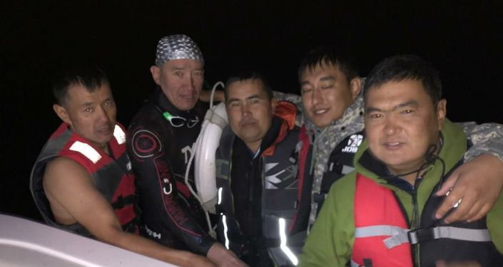 Пропавшего на озере Иссык-Куль главу Российско-Кыргызского фонда развития Эркина Асрандиева нашли живым