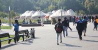 Празднование Дня независимости Кыргызстана в Москве