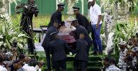 Похороны популярного исполнителя электронной музыки DJ Arafat в Кот-д'Ивуаре