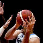 Луис Скола (Аргентина) в матче группового этапа чемпионата мира по баскетболу 2019 между сборными командами Аргентины и Республики Корея.