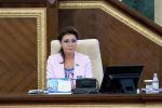Казахстандын парламентинин депутаты Дарига Назарбаева. Архивдик сүрөт