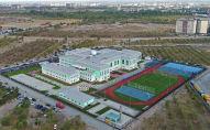 Школа Газпром Кыргызстан в городе Бишкек. Архивное фото