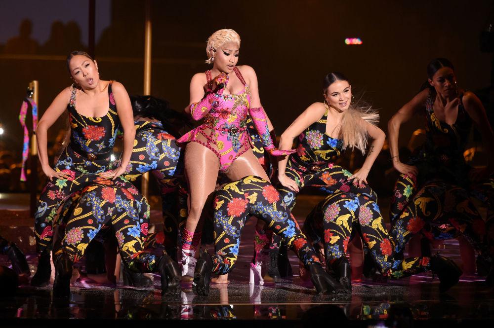 Выступление на MTV Europe Music Awards в 2018 году