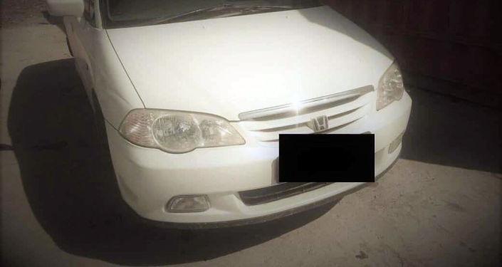Автомобиль марки Honda, угнанный в Бишкеке