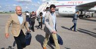 РИА Новости Украина порталынын жетекчиси Кирилл Вышинский Москвага келди