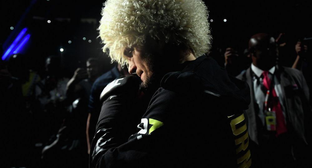 Экс-чемпион UFC Хабиб Нурмагомедов. Архивное фото