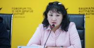 Билим берүү жана илим министрлигинин Мектептик билим берүү башкармалыгынын жетектөөчү адиси Айнура Кусеинова