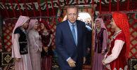 Визит президента Турции Реджепа Тайип Эрдогана в город Малазгирт