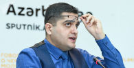 Азербайджанский политолог Эльхан Шахиноглу. Архивное фото