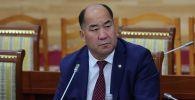Министр образования и науки КР Каныбек Исаков. Архивное фото