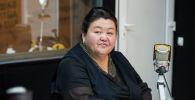 Кыргыз билим берүү академиясынын илим жана инновация бөлүмүнүн башчысы Дамира Жумабаева. Архив