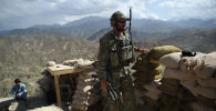 АКШнын аскери Дех Бала коңшулугунун бекетинде. Нангархар облусу, Афганистан. Архив