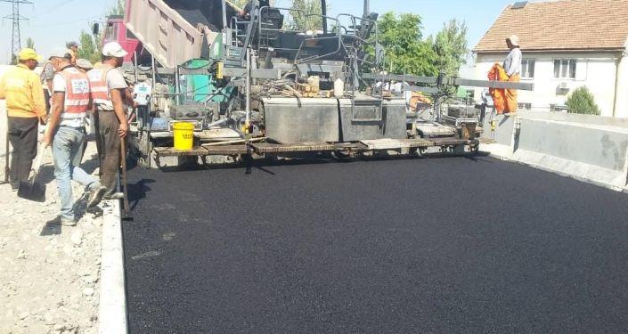 В Бишкеке в ближайшее время будет сдан в эксплуатацию новый автомобильный мост над рекой Ала-Арчой