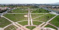 Бишкектеги Ынтымак сейил багы. Архив