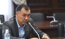 Архивное фото бывшего депутата ЖК Равшана Жээнбекова