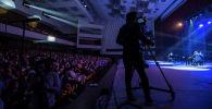 Концерт на сцене Кыргызской национальной филармонии имени Токтогула Сатылганова. Архивное фото