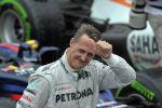 Немецкий гонщик, семикратный чемпион Формулы-1 Михаэль Шумахер. Архивное фото