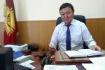 Унаа мамлекеттик мекемесинин директору Алымжан Козубаев. Архив
